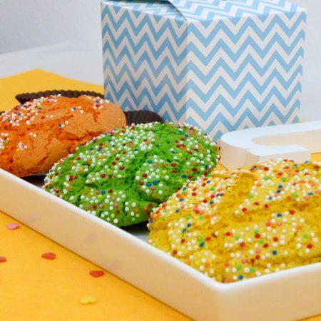 Las mejores galletas de colores. Una receta de pastas deliciosas