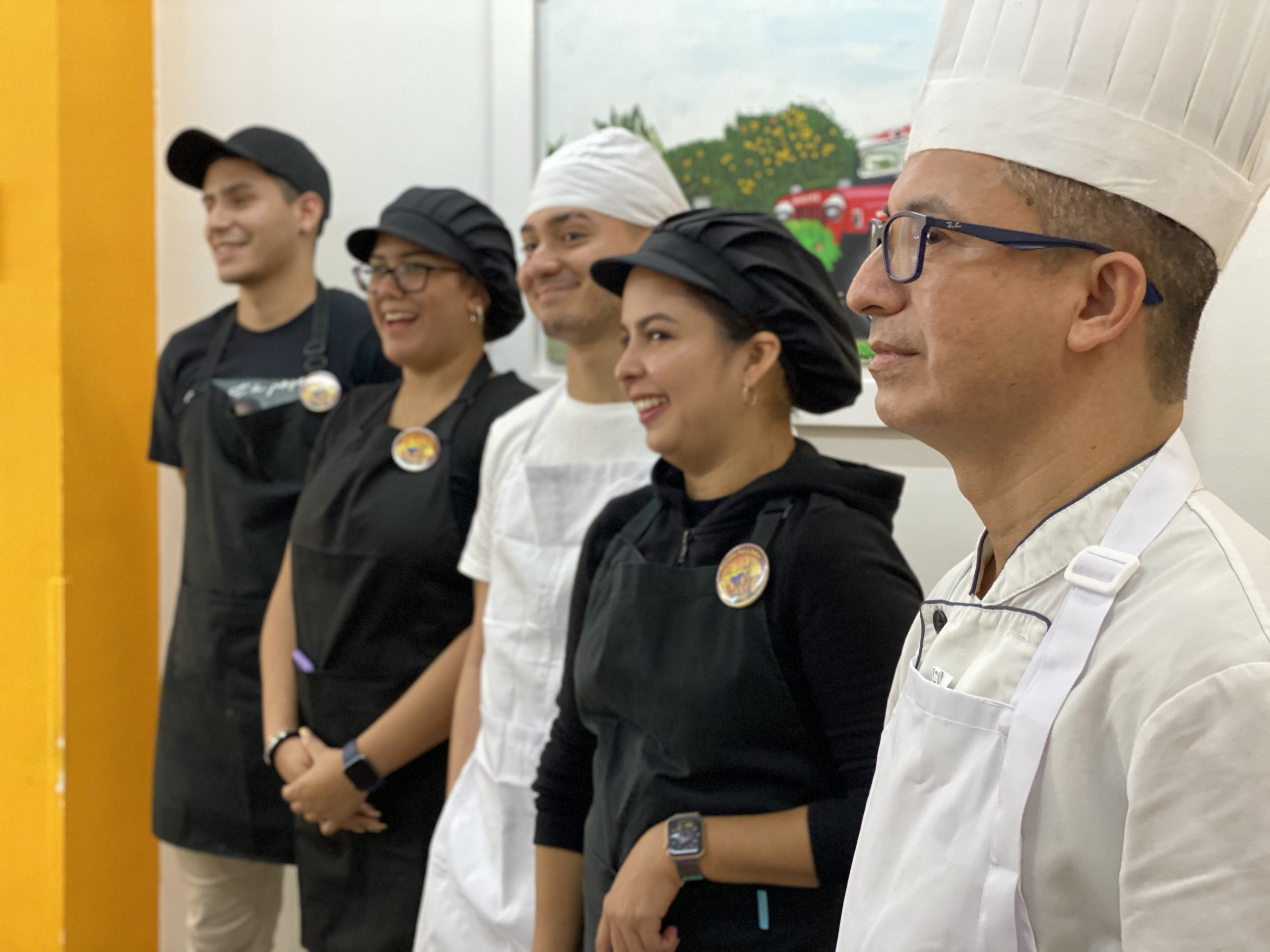Equipo de Colombia Pan y Sabor