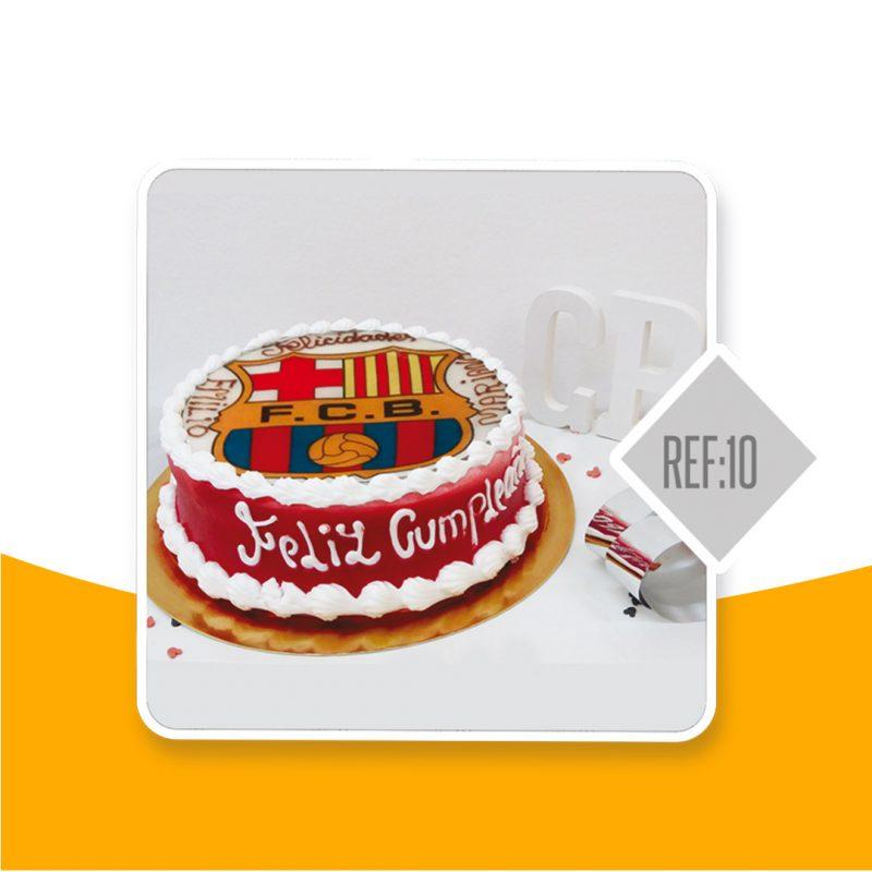 Torta negra Colombiana, equipos de futbol, Barça