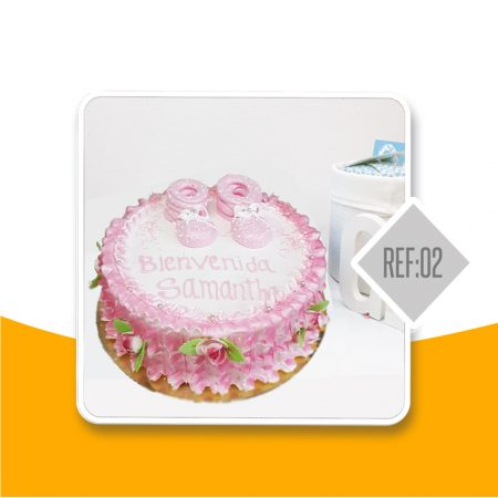 torta colombiana bautizo