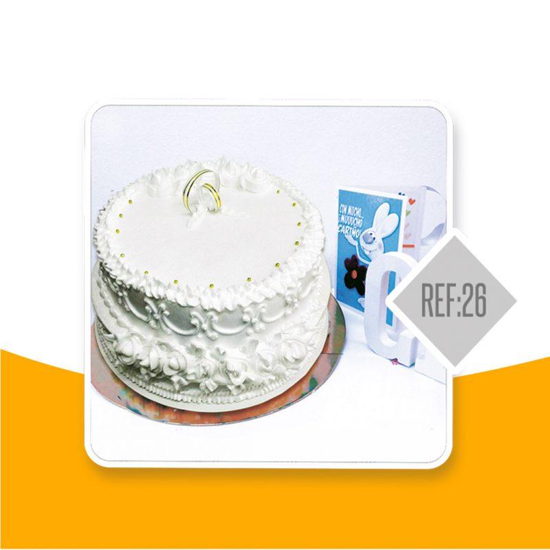 Torta negra Colombiana para bodas
