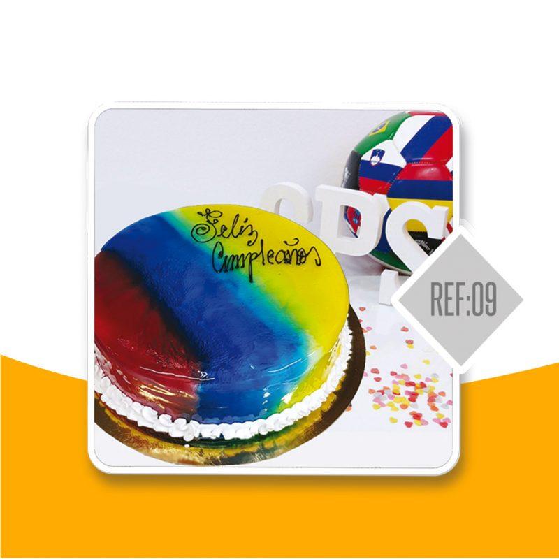 tarta negra Colombiana Selección Colombia