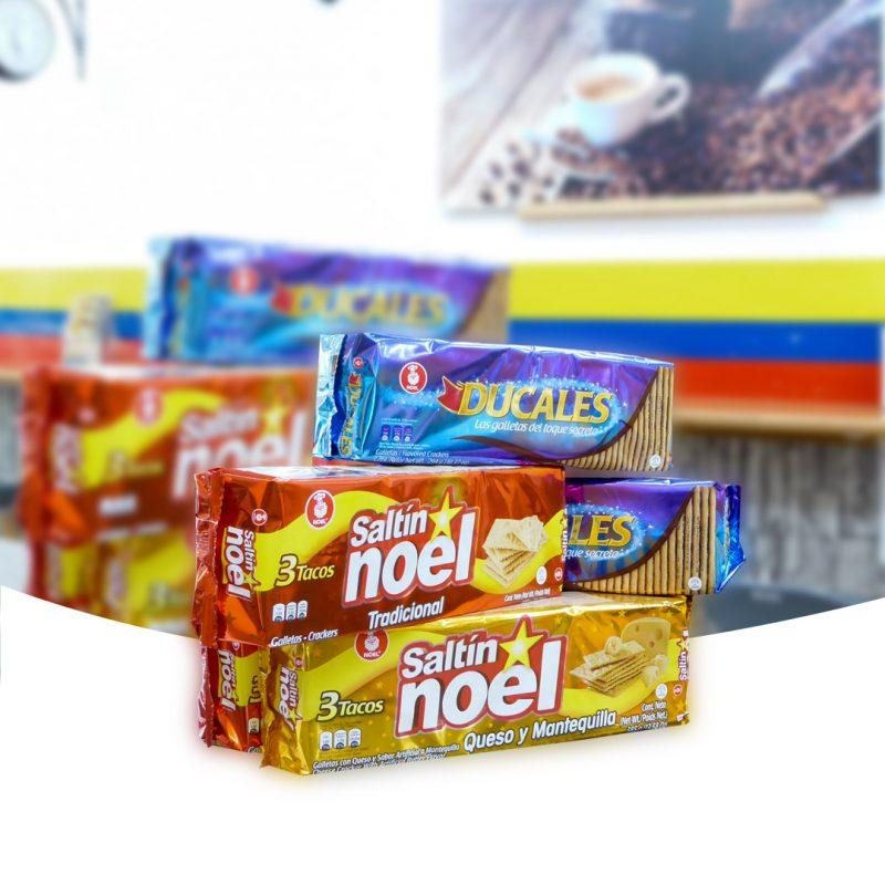 Galletas Colombianas marca 'Ducales' 'Noel'