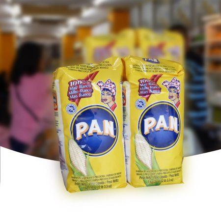 Harina Colombiana marca 'Pan'.